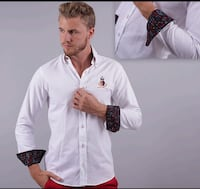 Wooden button shirt/camisa con boton de maderac261 Perth Amboy, 08861