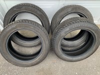 4 Winter Tires - Westlake 195 55 R16 SW 608 - Almost New