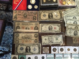 Lifetime Coin/Currency Collection-REDUCED!-silver, morgans, walkers!!