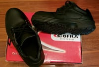 Cofra black safety shoes, lightly used Mississauga, L5N 2T3
