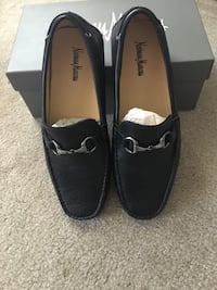 Black Leather Loafers (Neiman Marcus). Size 10. Only worn once. Dallas, 75219