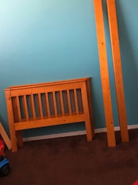 Twin size Bed Frame w/ Headboard and FootBoard NOT SOLD SEPARATELY!!.