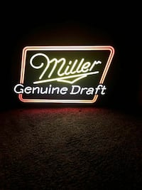 Light up neon beer signs trade for a full size too Milford, 45150