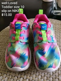 pair of pink-and-blue Nike sneakers Hilliard, 43026