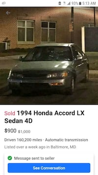 1994 Honda Accord Baltimore