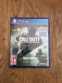 Sony PS4 Call of Duty spill tilfelle