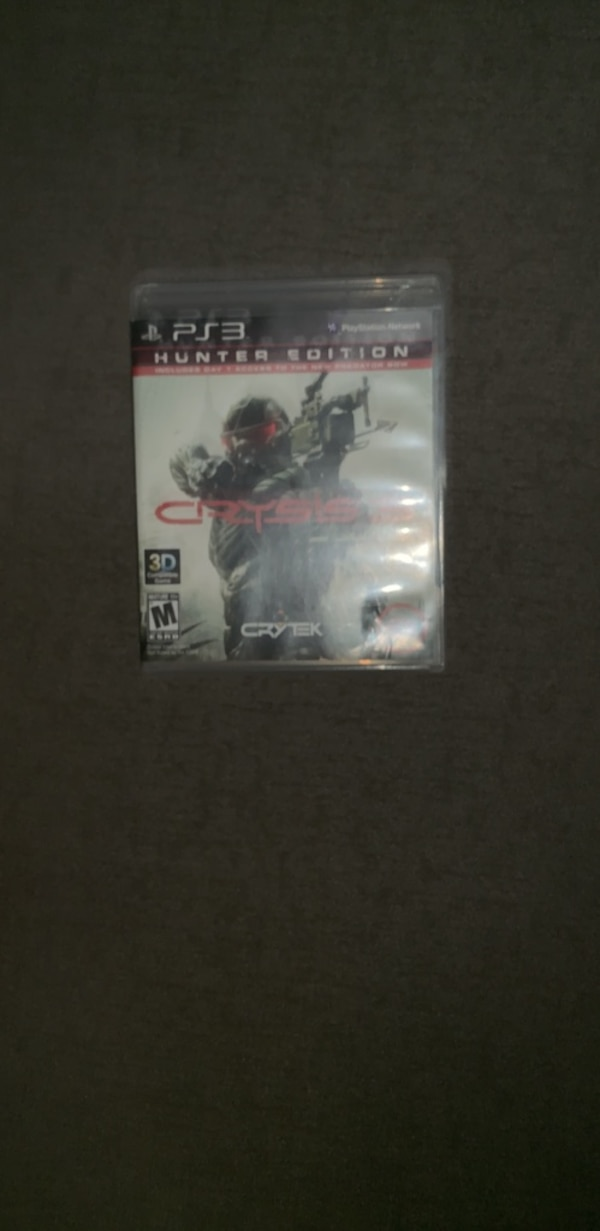 Used Playstation 3 Crisis 3 Hunter Edition For Sale In New York Letgo