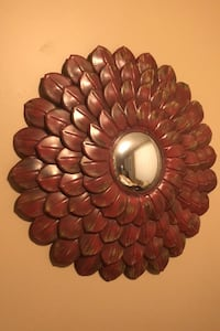 Metal flower wall decor Fort Knox, 40121