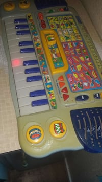 gray, yellow and blue electric keyboard El Paso, 79928