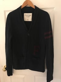 Men's size medium Abercrombie &Fitch cardigan sweater. I paid $108 for this and the price of $20 is firm. Whitehall, 18052