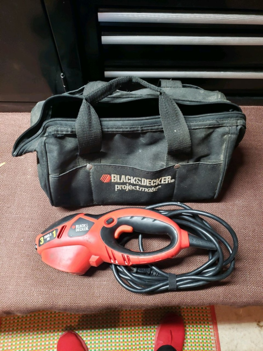 Photo Black and decker 3 in 1 tool