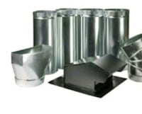 Master Flow 7 in. Appliance Vent Kit. New. PRICE I Palatine, 60074
