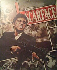 Scarface Limited Edition Blu-Ray and DVD Des Moines