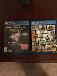 two Sony PS4 game cases El Paso, 79938