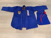 Brazilian Jiu Jitsu Gis .  One adult A-2 and 2 Children's M-0 and M-3.  Like New. Will sell separately.  $50 each for the children's sizes.  $80 for the adult. Burlington, L7M 4T8