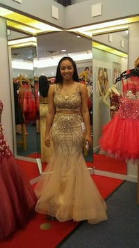 Gold Prom Dress  Louisville, 40272