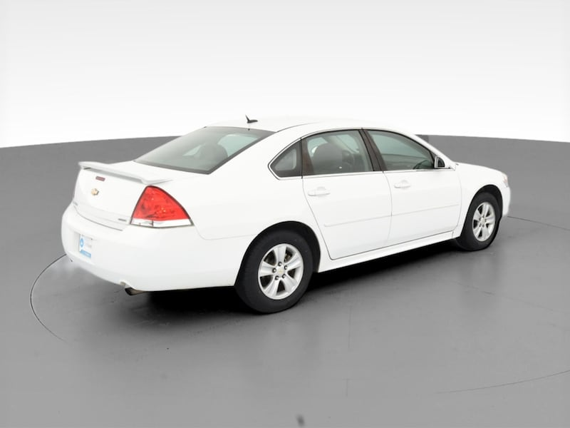 2014 Chevy Chevrolet Impala Limited sedan LS Sedan 4D White  10
