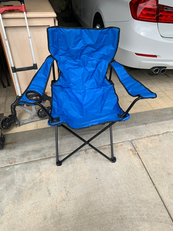Outstanding Blue And Black Camping Chair Caraccident5 Cool Chair Designs And Ideas Caraccident5Info