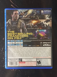 Call of duty infinite warfare PS4 Barrie, L4N 0J1