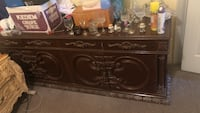 brown wooden sideboard New York, 11219