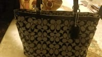 black and brown Coach monogram tote bag South Gate, 90280