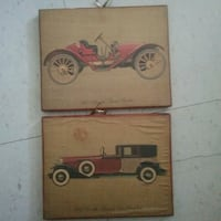 Wooden picture 1910 oldsmobile 1931 Cadillac Fleet Winnipeg, R3B 2S7
