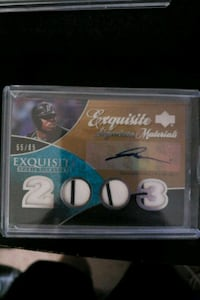 Dontrelle Willis Autographed and Jersey card  Wheaton, 60187
