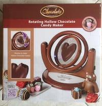 Brand new Rotating Hollow Chocolate Candy Maker (pick up only) Alexandria, 22315