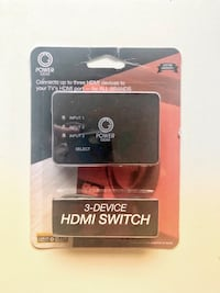 BRAND NEW - Universal HDMI Switch for 3 Devices