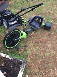 green and black hover cart and push mower Buford, 30518