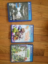 Playstation 4 (PS4) games excellent condition! Chicago, 60652