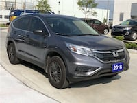 2016 Honda CR-V - LOW % FINANCE PROGRAM INCLUDING NEWCOMERS AND WORK PERMIT HOLDERS Toronto