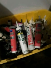 Variety of caulking..  Phoenix, 85033