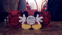 red and white Minnie Mouse print textile Toronto, M3C 2Z5