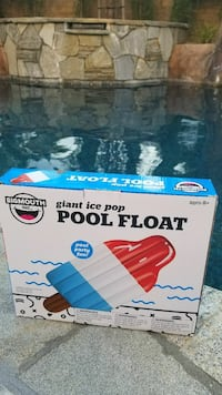 Giant Popsicle Pool Float