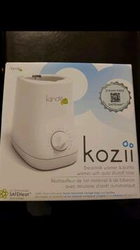 Brand new Kiinde Kozii bottle warmer  Markham, L3T 0B1