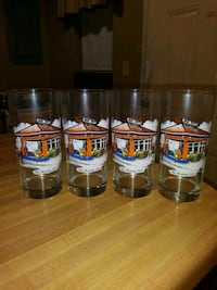 Vintage(40's)Gulf Oil Collector's Series(4)