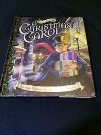 A Christmas Carol Pop Up book!