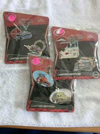 "Disney Pixar ""Cars"" Limited Pins"