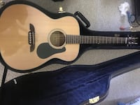 Alvarez RF8 acoustic guitar guitar comes with hard case  Takoma Park, 20912