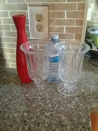 clear glass pitcher with drinking glasses Bradford West Gwillimbury, L3Z 1Z1
