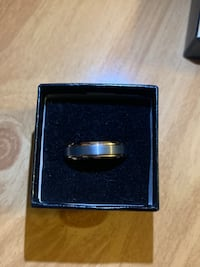 Men's tungsten rose gold plated wedding band size 12 Centreville, 20120
