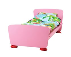 Cute IKEA Kid Bed Frame included  Slatted Bed Base