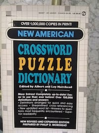 New American crossword puzzle dictionary 552 km