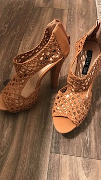brown open toe heeled sandals West Palm Beach, 33417