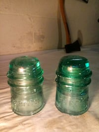 Pair of Antique telephone insulator Boonsboro, 21713