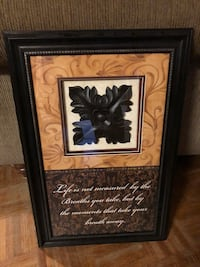 Decorative Wood Framed Picture