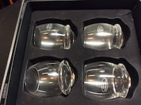 Four new drinking glasses with box Edmonton, T5Z 2W3
