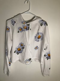 white and purple floral button-up shirt Concord, 94520