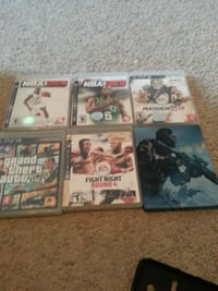 four Sony PS3 game cases Inwood, 25428